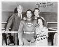Movie/TV Memorabilia:Autographs and Signed Items, [Adventures of Superman] Jack Larson and Noel Neill Signed Cast Photo. ...