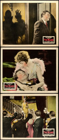 """Movie Posters:Horror, The Wizard (Fox, 1927). Fine/Very Fine. Lobby Cards (3) (11"""" X 14"""").. ... (Total: 3 Items)"""