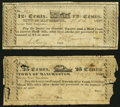 Obsoletes By State:Virginia, Manchester, VA- Town of Manchester 12-1/2¢; 25¢ 1837 J-L TM05-UNL About Good; Very Good.. ... (Total: 2 notes)