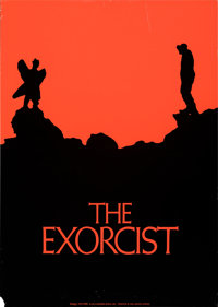 "The Exorcist (Warner Bros., 1973). Rolled, Fine/Very Fine. Advance Promotional Poster (22.25"" X 31.25"") Dan Pe..."
