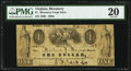 Obsoletes By State:Virginia, Bloomery, VA- Unknown Issuer at Bloomery Forge Store $1 1858 J-L PB50-08 PMG Very Fine 20.. ...