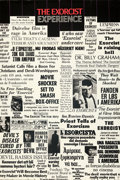 """Movie Posters:Horror, The Exorcist (Warner Bros., 1974). Folded, Very Fine-. Newspaper Review Poster (40"""" X 60"""").. ..."""