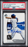 Baseball Cards:Singles (1970-Now), 2005 SP Collection Bo Jackson #13 Autograph PSA Mint 9....