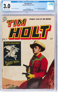 Tim Holt #11 (Magazine Enterprises, 1949) CGC GD/VG 3.0 Off-white to white pages