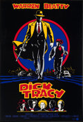 """Movie Posters:Action, Dick Tracy (Buena Vista, 1990). Very Fine- on Linen. One Sheet (27"""" X 39.75""""). Action.. ..."""