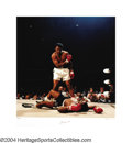 Boxing Collectibles:Autographs, Ali-Liston II In 1992, noted photographer Neil Liefer and ...