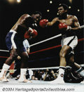 Boxing Collectibles:Autographs, Ali-Frazier III In 1992, noted photographer Neil Liefer ...