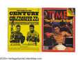 Baseball Cards:Singles (1930-1939), Magazines Signed By Muhammad Ali. Lot of 5 Offered in this ...