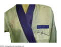 Boxing Collectibles:Memorabilia, Teofilo Stevenson Fight Worn Robe During the 1970's, the ...