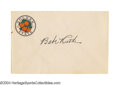 Autographs:Post Cards, Babe Ruth Signed Envelope So bold and dark, you can see it ...