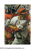 Baseball Collectibles:Others, Mark McGwire Limited Edition Stephen Holland Giclee This ...