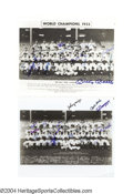 Autographs:Photos, 1949 and 1952 New York Yankees Team Signed Photographs ... (2items)