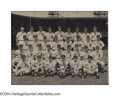 Autographs:Photos, 1952 Detroit Tigers Team Signed Large Photograph Not too ...