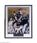 Autographs:Photos, New York Yankee 1998 Team Signed Photo One of the greatest ...