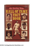 Autographs:Others, Sporting News Hall of Fame Multi-Signed Book The perfect ...