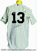 Autographs:Jerseys, Alex Rodriguez Signed Jersey Direct from the two hundred ...
