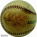 Autographs:Baseballs, Ty Cobb Single Signed Baseball Circa 1923 Acquired by a ...