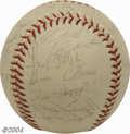 Autographs:Baseballs, 1970 Pittsburgh Pirates Team Signed Baseball Basically the ...