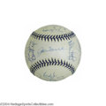 Autographs:Baseballs, 1998 and 1999 New York Yankees Team Signed Baseballs (2) ... (2 items)