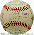 Autographs:Baseballs, 1957 & 1963 New York/San Francisco Giants Team Signed ... (2items)