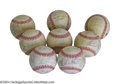 Autographs:Baseballs, 1983 & 1984 San Francisco Giants Team Signed Baseballs (8) ...(8 items)
