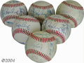 Autographs:Baseballs, 1987 & 1988 San Francisco Giants Team Signed Baseballs (6) ...(6 items)