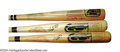 Autographs:Bats, Willie Mays and Duke Snider Signed Cooperstown Bat ... (3 items)