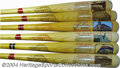 Autographs:Bats, Cooperstown Bat Co. Stadium Series Bat Collection (6) ... (6 items)