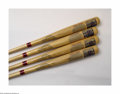 Autographs:Bats, Cooperstown Bat Co. Yankee Stadium Collection (4) Prized ... (4items)