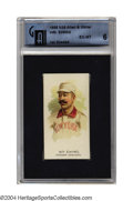 Baseball Cards:Singles (Pre-1930), 1888 N43 Allen & Ginter Wm. Ewing GAI EX-MT 6 One of the ...