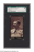 Baseball Cards:Singles (Pre-1930), 1895 Mayo's Cut Plug N300 Dan Brouthers SGC EX 60 Another ...