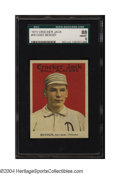 Baseball Cards:Singles (Pre-1930), 1915 Cracker Jack Chief Bender #19 SGC NM/MT 88 Yet ...