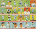 Baseball Cards:Lots, 1933 Goudey Big League Triple Babe Ruth Uncut Sheet The ...