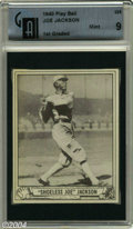 Baseball Cards:Singles (1940-1949), 1940 Play Ball Joe Jackson #225 GAI Mint 9 The 1940 Play ...