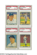 Baseball Cards:Lots, 1941 Play Ball Complete Set with PSA Graded Stars It was ...