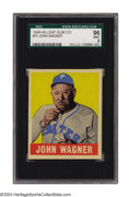 Baseball Cards:Singles (1940-1949), 1948 Leaf Honus Wagner #70 SGC Mint 96 We've all heard the ...