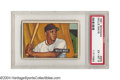 Baseball Cards:Singles (1950-1959), 1951 Bowman Willie Mays #305 PSA EX-MT 6 Along with Mickey ...