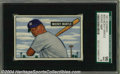 Baseball Cards:Singles (1950-1959), 1951 Bowman Mickey Mantle #253 SGC Mint 96 This card is a ...