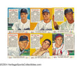 Baseball Cards:Sets, 1953 Red Man Tobacco Complete Set All 52 cards in this ...