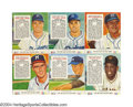Baseball Cards:Sets, 1954 Red Man Tobacco Complete Set Fifty-four cards include ...