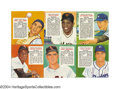 Baseball Cards:Sets, 1955 Red Man Tobacco Complete Set The last in the long and ...