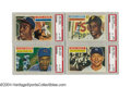 Baseball Cards:Lots, 1956 Topps Baseball Complete Set with PSA Graded Stars The ...
