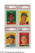 Baseball Cards:Sets, 1958 Topps Baseball Complete Set (494) In the tall stacks ...