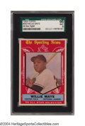 Baseball Cards:Singles (1950-1959), 1959 Topps Willie Mays All-Star #563 SGC Mint 96 One of ...