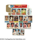 Baseball Cards:Sets, 1960-71 Bazooka Complete Set Collection. Lot of 5 Sets The ...