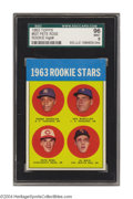 "Baseball Cards:Singles (1960-1969), 1963 Topps Pete Rose Rookie #537 SGC Mint 96 ""Charlie ..."