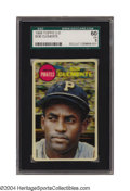 Baseball Cards:Singles (1960-1969), 1968 Topps 3-D Bob Clemente SGC EX 60 This super-cool and ...