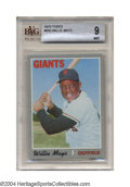 Baseball Cards:Singles (1970-Now), 1970 Topps Willie Mays #600 BVG Mint 9 He was at an even ...