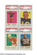 Football Cards:Sets, 1959 Topps Football Complete Set with PSA Graded Stars ...