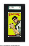 Football Cards:Singles (1960-1969), 1965 Topps Joe Namath #122 SGC NM/MT 88 Broadway Joe made ...